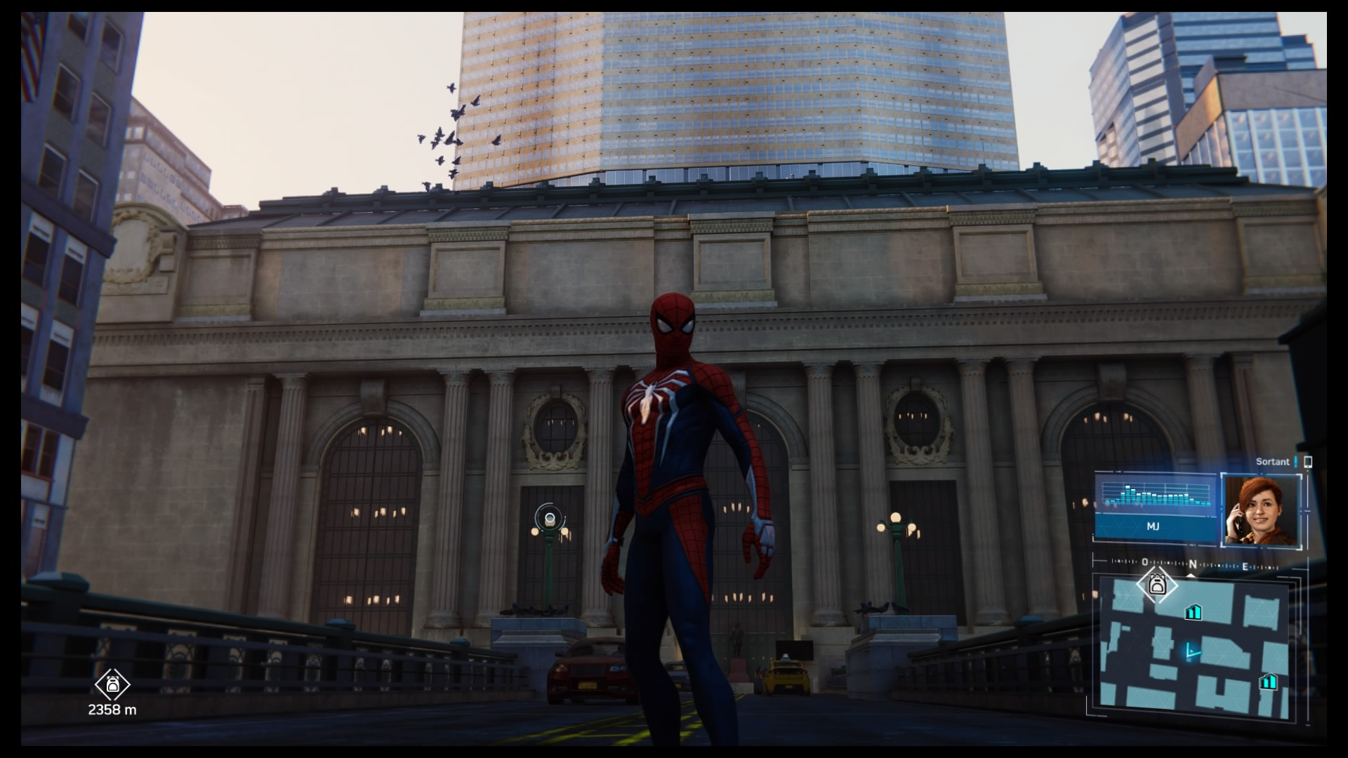 Met Life Building / Grand Central dans Marvel's Spider-Man sur PS4