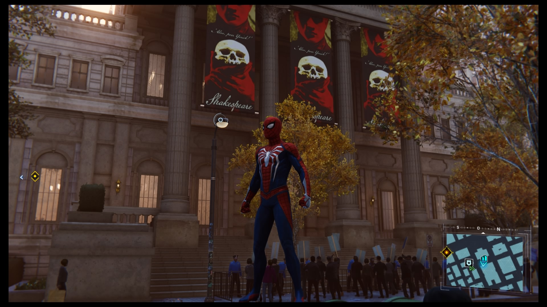 New York Pubic Library Marvel's Spider-Man sur PS4