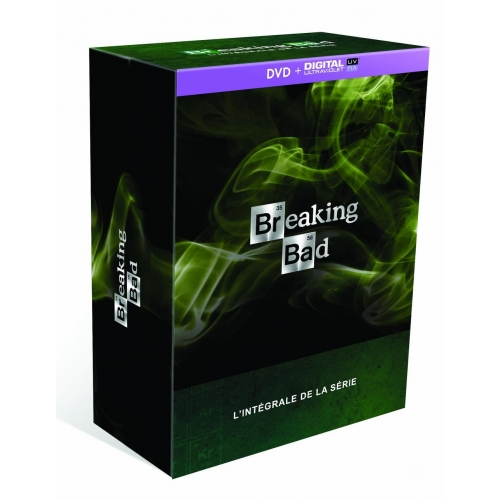 Breaking Bad en coffret DVD$