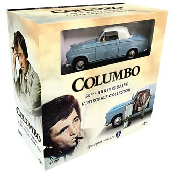 Coffret collector Columbo 50 ans