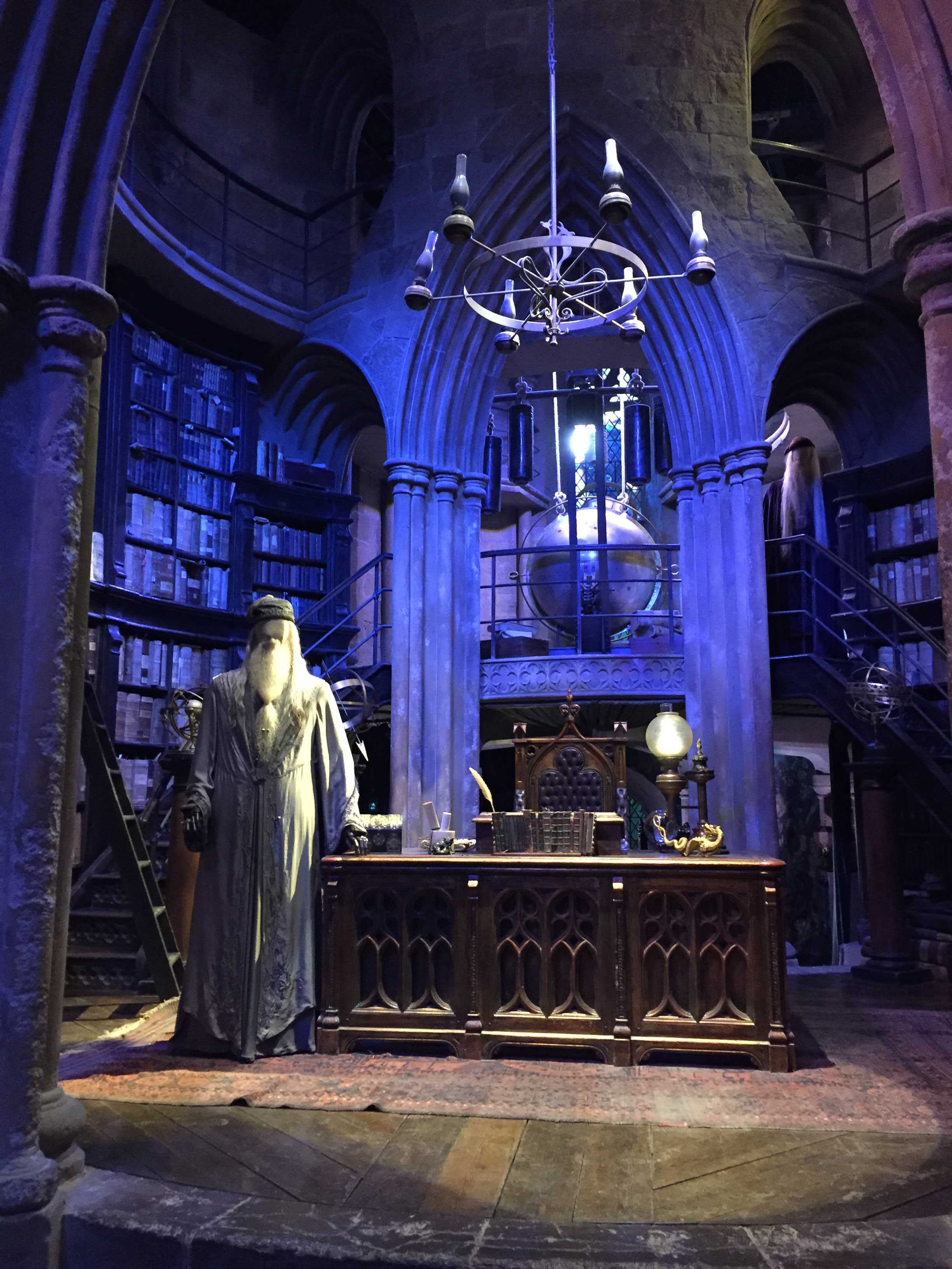 Le bureau de Dumbledore dans Harry Potter