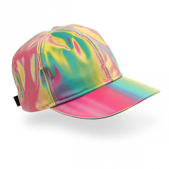 Marty's rainbow cap from Back to the future